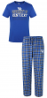"Kentucky Wildcats NCAA ""Medalist"" Men's T-shirt & Flannel Pajama Sleep Set"