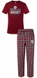"Texas A&M Aggies NCAA ""Medalist"" Men's T-shirt & Flannel Pajama Sleep Set"