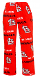 "St. Louis Cardinals MLB ""Facade"" Men's Micro Fleece Pajama Pants"