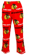 "Chicago Blackhawks NHL ""Facade"" Men's Micro Fleece Pajama Pants"