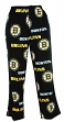 "Boston Bruins NHL ""Facade"" Men's Micro Fleece Pajama Pants"