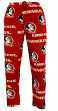 "Florida State Seminoles NCAA ""Facade"" Men's Micro Fleece Pajama Pants"