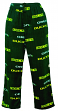 "Oregon Ducks NCAA ""Facade"" Men's Micro Fleece Pajama Pants"