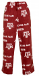"Texas A&M Aggies NCAA ""Facade"" Men's Micro Fleece Pajama Pants"