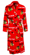 "Chicago Blackhawks NHL ""Facade"" Men's Micro Fleece Robe"