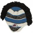 "Colorado Avalanche Reebok NHL 2015 ""Face-Off"" Spiked Mohawk Knit Hat"