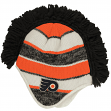 "Philadelphia Flyers Reebok NHL 2015 ""Face-Off"" Spiked Mohawk Knit Hat"