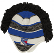 "New York Rangers Reebok NHL 2015 ""Face-Off"" Spiked Mohawk Knit Hat"