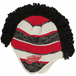 "Detroit Red Wings Reebok NHL 2015 ""Face-Off"" Spiked Mohawk Knit Hat"