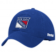 New York Rangers Reebok NHL Basics Slouch Adjustable Hat