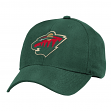 Minnesota Wild Reebok NHL Basics Structured Adjustable Hat