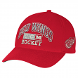 "Detroit Red Wings CCM NHL ""Vintage"" Structured Adjustable Hat"