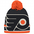 "Philadelphia Flyers CCM NHL ""Split Logo"" Cuffed Knit Hat with Pom"