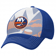"New York Islanders Reebok NHL 2015 ""Face-Off"" Structured Flex Hat"