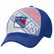 "New York Rangers Reebok NHL 2015 ""Face-Off"" Structured Flex Hat"