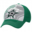 "Dallas Stars Reebok NHL 2015 ""Face-Off"" Structured Flex Hat"