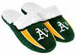 Oakland Athletics MLB 2013 Men's Sherpa Slide Slippers