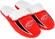 Detroit Red Wings NHL 2013 Men's Sherpa Slide Slippers