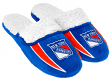 New York Rangers NHL 2013 Men's Sherpa Slide Slippers