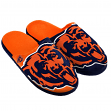 Chicago Bears NFL Men's Split Color Slide Slippers