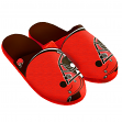 Cleveland Browns NFL Men's Split Color Slide Slippers