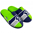 Seattle Seahawks NFL Men's Split Color Slide Slippers