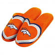 Denver Broncos NFL Women's Glitter Heart Slide Slippers