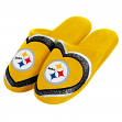 Pittsburgh Steelers NFL Women's Glitter Heart Slide Slippers