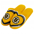 Boston Bruins NHL Women's Glitter Heart Slide Slippers