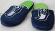Seattle Seahawks NFL Men's All Over Logo Slide Slippers