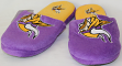 Minnesota Vikings NFL Men's All Over Logo Slide Slippers