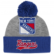 """New York Rangers Mitchell & Ness NHL """"Tailsweep"""" Current Logo Cuffed Knit Hat"""