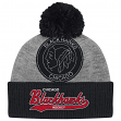 "Chicago Blackhawks Mitchell & Ness NHL ""Tailsweep"" Retro Logo Cuffed Knit Hat"