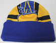 San Francisco Warriors Mitchell & Ness NBA Stop On A Dime Retro Cuffed Knit Hat