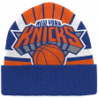 "New York Knicks Mitchell & Ness NBA ""Stop On A Dime"" Premium Cuffed Knit Hat"
