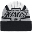 "Los Angeles Kings Mitchell & Ness NHL ""Stop On A Dime"" Retro Logo Knit Hat"