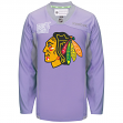 Chicago Blackhawks Reebok NHL Hockey Fights Cancer Practice Men's Jersey