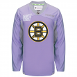 Boston Bruins Reebok NHL Hockey Fights Cancer Practice Men's Jersey