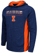 "Illinois Fighting Illini NCAA ""Sleet"" Pullover Men's Hooded Jacket"