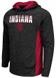 "Indiana Hoosiers NCAA ""Sleet"" Pullover Men's Hooded Jacket"