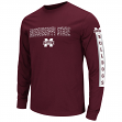 "Mississippi State Bulldogs NCAA ""Surge"" Long Sleeve Dual Blend Men's T-Shirt"