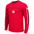 "Nebraska Cornhuskers NCAA ""Surge"" Long Sleeve Dual Blend Men's T-Shirt"
