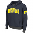 "Michigan Wolverines NCAA ""Flurry"" Pullover Hooded Men's Sweatshirt"