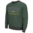 "Oregon Ducks NCAA ""Gust"" Men's Pullover Dual Blend Crew Sweatshirt"