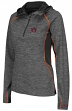 "Auburn Tigers Women's NCAA ""Downhill"" 1/4 Zip Hooded L/S Wind Shirt"