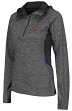 "LSU Tigers Women's NCAA ""Downhill"" 1/4 Zip Hooded L/S Wind Shirt"