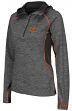 "Oklahoma State Cowboys Women's NCAA ""Downhill"" 1/4 Zip Hooded L/S Wind Shirt"
