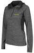 "Oregon Ducks Women's NCAA ""Downhill"" 1/4 Zip Hooded L/S Wind Shirt"