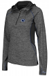 "Penn State Nittany Lions Women's NCAA ""Downhill"" 1/4 Zip Hooded L/S Wind Shirt"