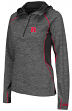 "Rutgers Scarlet Knights Women's NCAA ""Downhill"" 1/4 Zip Hooded L/S Wind Shirt"
